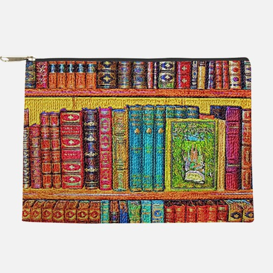 Library Makeup Pouch