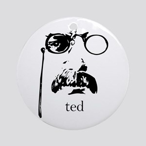 Teddy Roosevelt Ornament (Round)
