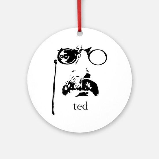 Teddy Roosevelt Ornament (Round)