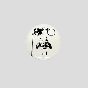 Teddy Roosevelt Mini Button