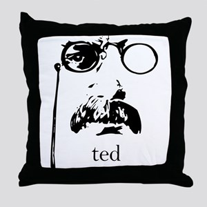 Teddy Roosevelt Throw Pillow