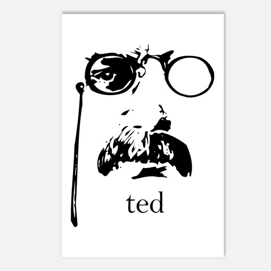 Teddy Roosevelt Postcards (Package of 8)