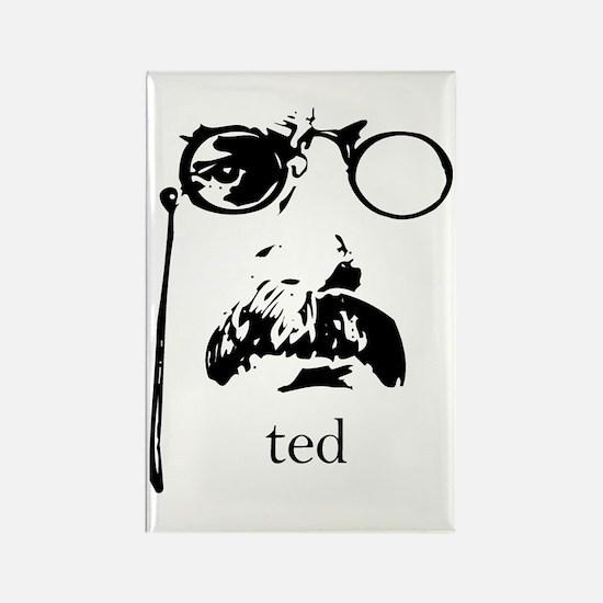 Teddy Roosevelt Rectangle Magnet