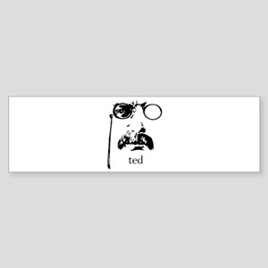 Teddy Roosevelt Bumper Sticker