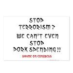 Stop Pork Spending Postcards (Package of 8)