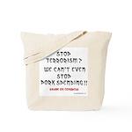 Stop Pork Spending Tote Bag