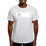 Stop Pork Spending Ash Grey T-Shirt