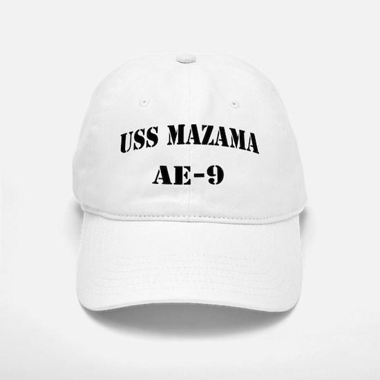 USS MAZAMA Baseball Baseball Cap