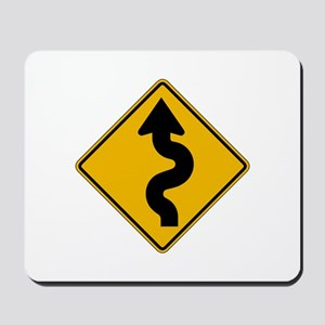 Winding Road - USA Mousepad
