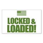 Locked and Loaded Sticker