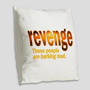 Revenge TV Burlap Throw Pillow