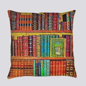 Library Everyday Pillow