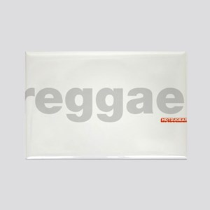 Reggae Rectangle Magnet