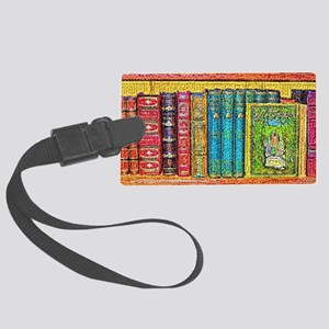 Library Large Luggage Tag