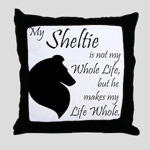 My Sheltie Throw Pillow