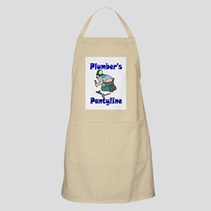 Plumber's pantyline BBQ Apron