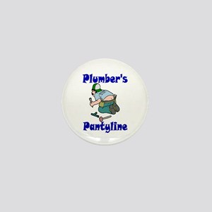 Plumber's pantyline Mini Button