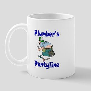 Plumber's pantyline Mug