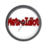 MetroIdiot Wall Clock