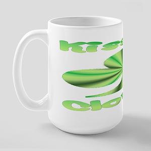 Kiss Clover Large Mug