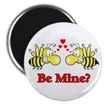 Be Mine Bees Magnet