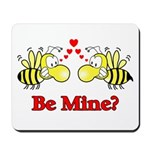 Be Mine Bees Mousepad