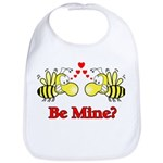 Be Mine Bees Bib