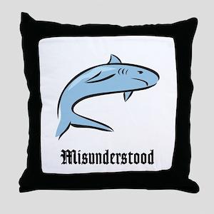 Misunderstood Throw Pillow
