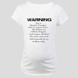Quantum Tunneling Maternity T-Shirt
