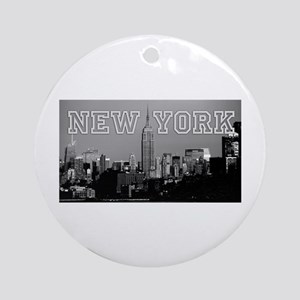 Empire State New York City - Pro Ornament (Round)