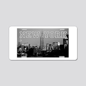 Empire State New York City Aluminum License Plate