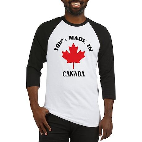 100% Made In Canada Baseball Jersey