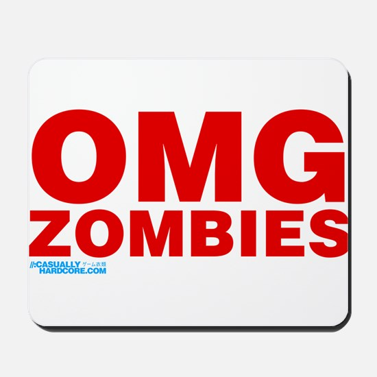 OMG Zombies Mousepad