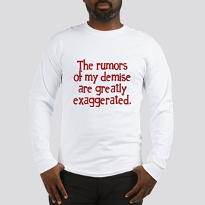 The Rumors... Long Sleeve T-Shirt