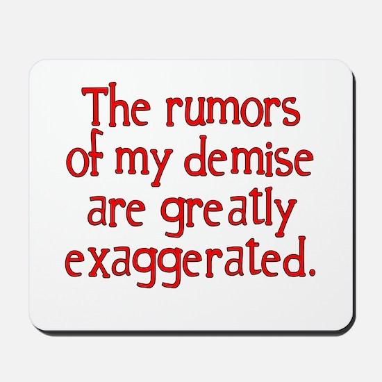 The Rumors... Mousepad