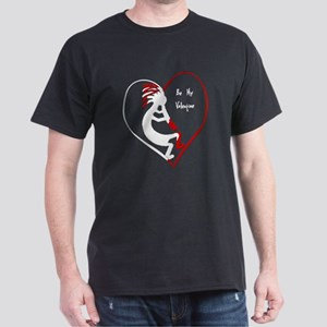 Be My Valentine Kokopelli Dark T-Shirt