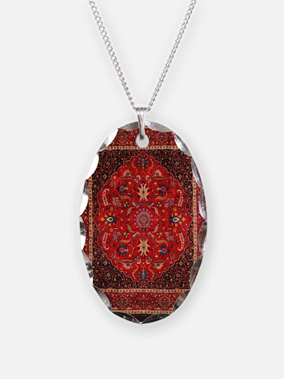 Persian Mashad Rug Necklace