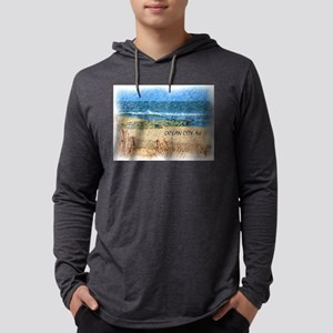 Ocean City NJ Beach Long Sleeve T-Shirt