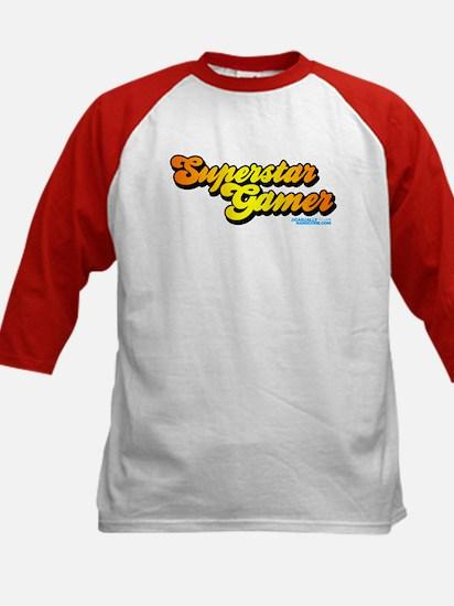 Superstar Gamer Kids Baseball Jersey