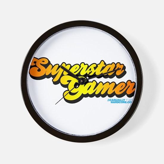 Superstar Gamer Wall Clock