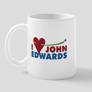 I HEART JOHN EDWARDS Mug