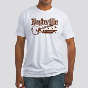 Nashville Tennessee Fitted T-Shirt