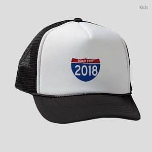 Road Trip 2018 Kids Trucker hat