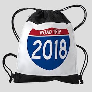 Road Trip 2018 Drawstring Bag
