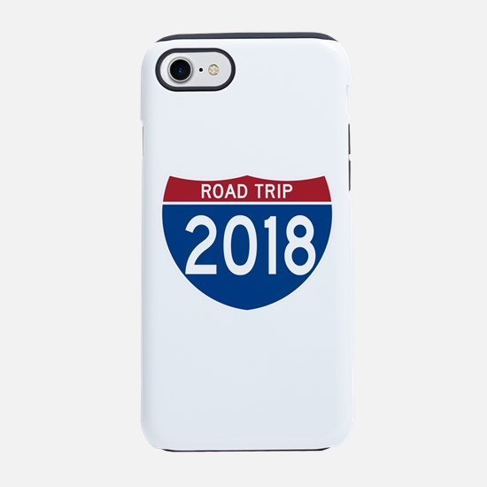 Road Trip 2018 iPhone 7 Tough Case