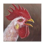 Crowing Tile Coaster
