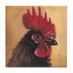 Red Head Tile Coaster