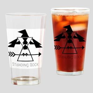 Standing Rock Drinking Glass
