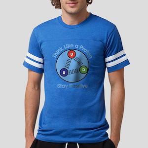 Think Like A Proton Stay Posit Mens Football Shirt