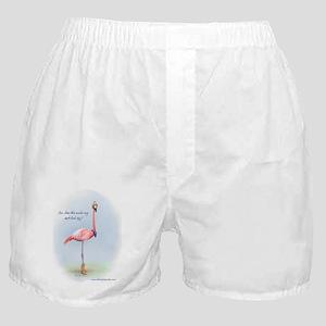 Cowboy Flamingo Boxer Shorts